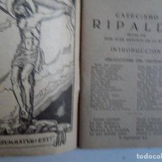 Libros de segunda mano: CATECISMO DE LA DOCTRINA CRISTIANA JERONIMO RIPALDA 1954 . Lote 118112495