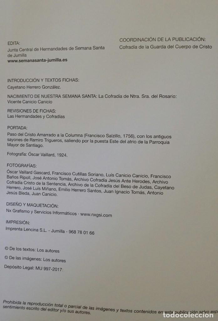 Libros de segunda mano: HISTORIA DE LAS HERMANDADES Y COFRADIAS JUMILLANAS (MURCIA) - 2017 - Foto 2 - 118117939