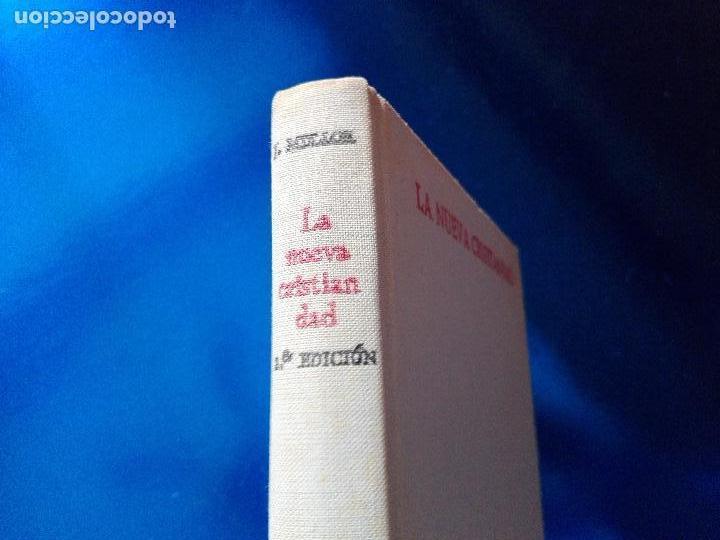 Libros de segunda mano: libro-la nueva cristiandad-justo mullor garcía-biblioteca de autores cristianos-1968 - Foto 2 - 118453919