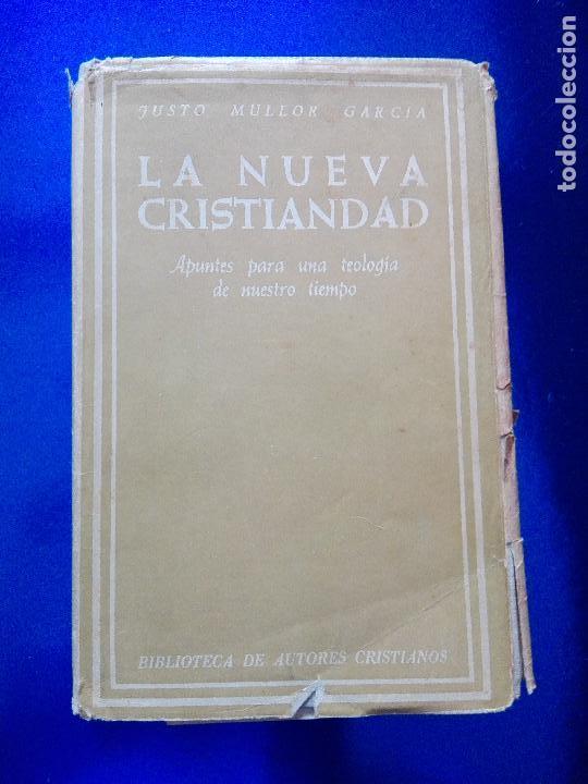 Libros de segunda mano: libro-la nueva cristiandad-justo mullor garcía-biblioteca de autores cristianos-1968 - Foto 15 - 118453919
