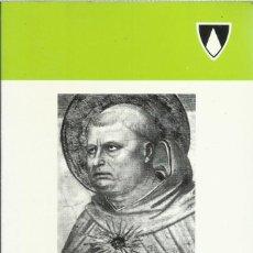 Libros de segunda mano: SANTO TOMAS DE AQUINO, BIOGRAFIA (VICENTE FORCADA COMINS). Lote 118642391