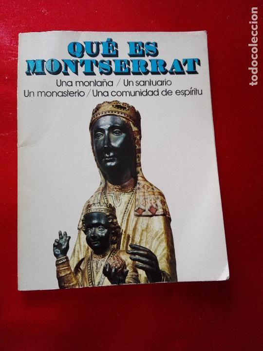 Libros de segunda mano: libro+postal-qué es monserrat.una montaña.un santuario.un monast...1974-buen estado-ver fotos - Foto 5 - 118677579