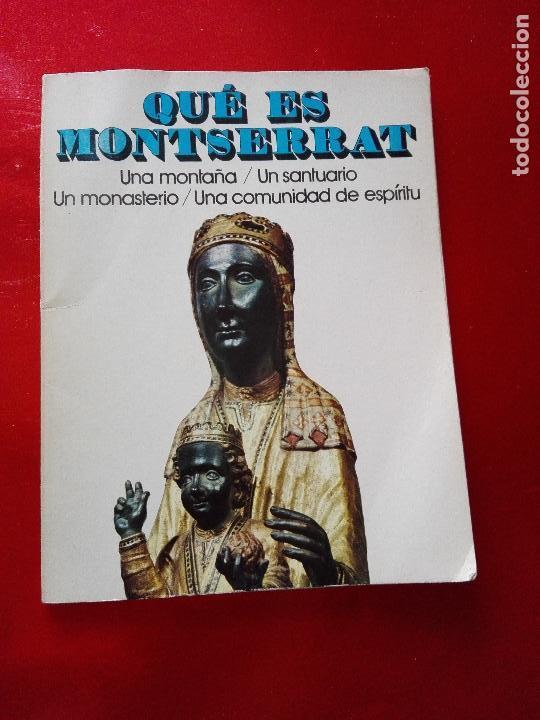 Libros de segunda mano: libro+postal-qué es monserrat.una montaña.un santuario.un monast...1974-buen estado-ver fotos - Foto 6 - 118677579