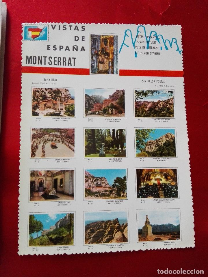 Libros de segunda mano: libro+postal-qué es monserrat.una montaña.un santuario.un monast...1974-buen estado-ver fotos - Foto 4 - 118677579