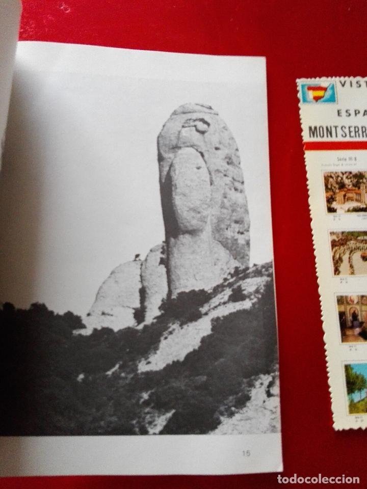 Libros de segunda mano: libro+postal-qué es monserrat.una montaña.un santuario.un monast...1974-buen estado-ver fotos - Foto 7 - 118677579
