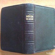 Libros de segunda mano: 1947 IMITACIÓN DE CRISTO - KEMPIS / EDICIÓN MINIATURA. Lote 118744859