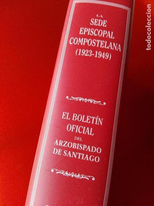 Libros de segunda mano: libro-la sede episcopal compostelana-1923.1949-concepción presas barrosa-2001-buen estado-ver fotos - Foto 3 - 118902179
