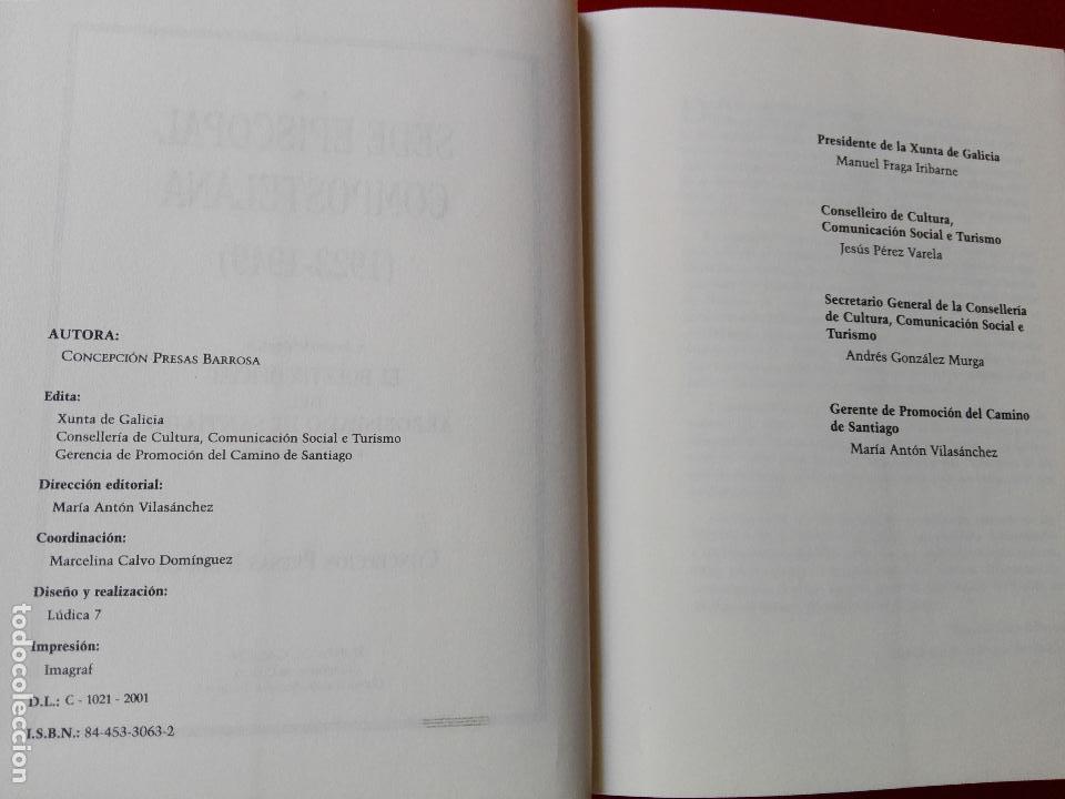 Libros de segunda mano: libro-la sede episcopal compostelana-1923.1949-concepción presas barrosa-2001-buen estado-ver fotos - Foto 5 - 118902179