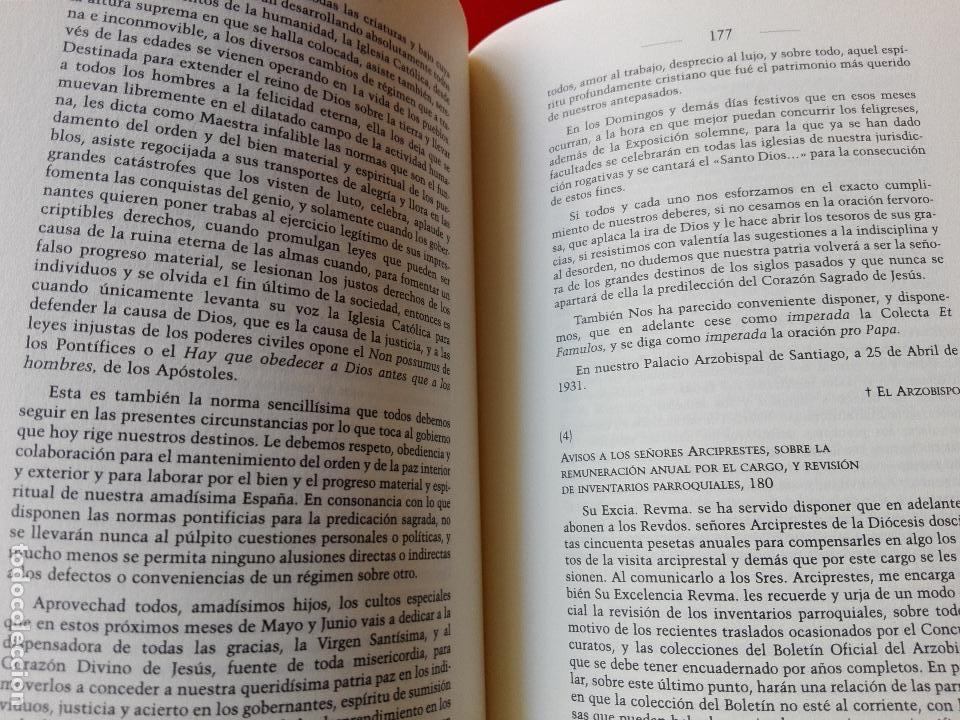 Libros de segunda mano: libro-la sede episcopal compostelana-1923.1949-concepción presas barrosa-2001-buen estado-ver fotos - Foto 8 - 118902179