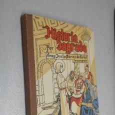 Libros de segunda mano: HISTORIA SAGRADA / FRAY JUSTO PÉREZ DE URBEL / BURGOS 1944. Lote 118976675
