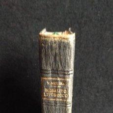 Libros de segunda mano: MISALITO LITÚRGICO POR P. VICENTE MOLINA. 1958. Lote 119002571