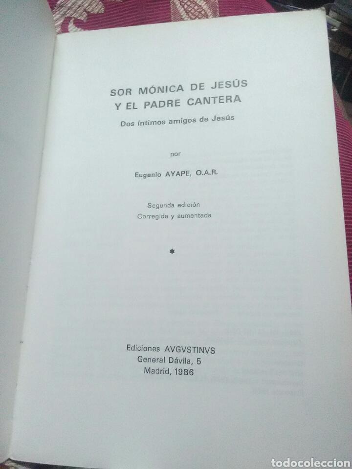 Libros de segunda mano: Sor Mónica de Jesús y el P. Cantera. Ayape. Augustinus. 1986. 2ª ed. - Foto 2 - 119312235
