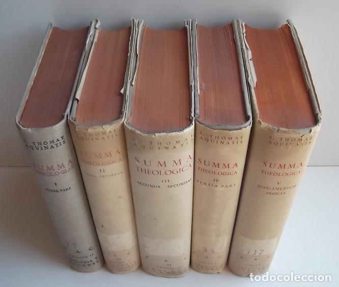 Libros de segunda mano: Tomás de Aquino: Summa Theologiae (5 vols.) (BAC) (lb) - Foto 2 - 119399555