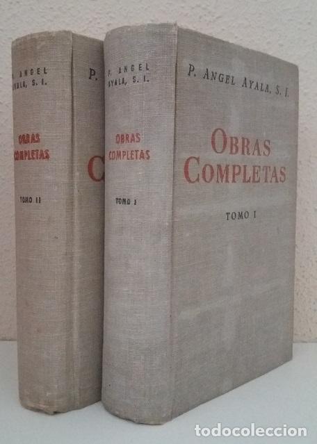AYALA, ÁNGEL: OBRAS COMPLETAS (2 VOLS.) (BAC) (LB) (Libros de Segunda Mano - Religión)