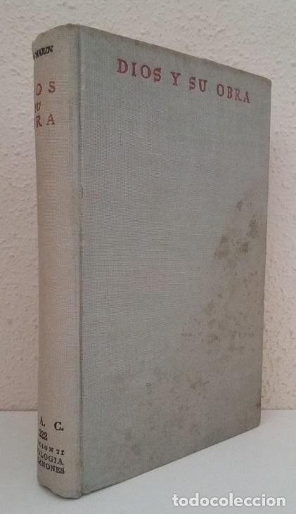 MARÍN, ROYO: DIOS Y SU OBRA (BAC) (LB) (Libros de Segunda Mano - Religión)