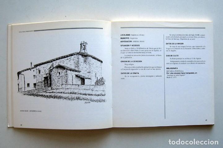 Libros de segunda mano: Ermitas y santuarios marianos de la diócesis de Vitoria, por Alfonso M.ª Abella - Foto 3 - 119989991