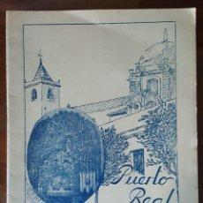 Libros de segunda mano: ANTIGUO BOLETÍN ASOCIACIÓN CABALLEROS DE LOURDES. 1956. VIRGEN DE LOURDES. PUERTO REAL. CÁDIZ.. Lote 120065811