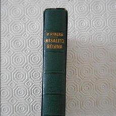 Libros de segunda mano: MISALITO REGINA. POR EL P. LUIS RIBERA, CLARETIANO. EDITORIAL REGINA, BARCELONA.1963. PIEL. ESTUCHE.. Lote 120178407