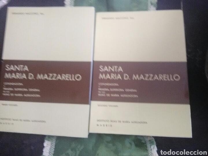 SANTA MARÍA D. MAZZARELLO, COFUNDADORA HIJAS DE MARÍA AUXILIADORA (SALESIANAS). 2 TOMOS. 1981. (Libros de Segunda Mano - Religión)