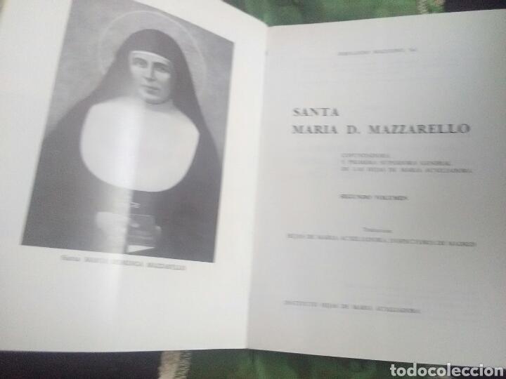 Libros de segunda mano: Santa María D. Mazzarello, Cofundadora Hijas de María Auxiliadora (Salesianas). 2 Tomos. 1981. - Foto 3 - 120634895