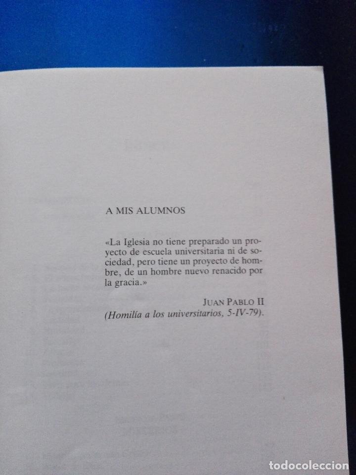 Libros de segunda mano: LIBRO-PARA SER CRISTIANO-JUAN LUÍS LORDA-PATMOS(LIBROS DE ESRITUALIDAD)-4ªEDICIÓN-1996-RIALP - Foto 6 - 120693911