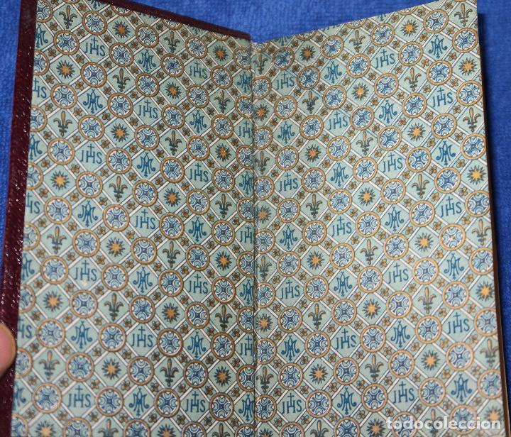 Libros de segunda mano: El oficio del domingo - devocionario - Instituto italiano de artes gráficas - Bergamo (1889) - Foto 2 - 120773603
