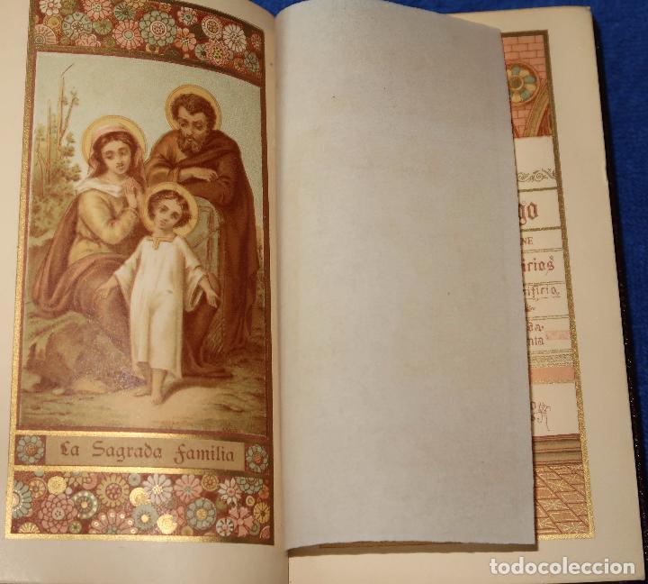 Libros de segunda mano: El oficio del domingo - devocionario - Instituto italiano de artes gráficas - Bergamo (1889) - Foto 3 - 120773603