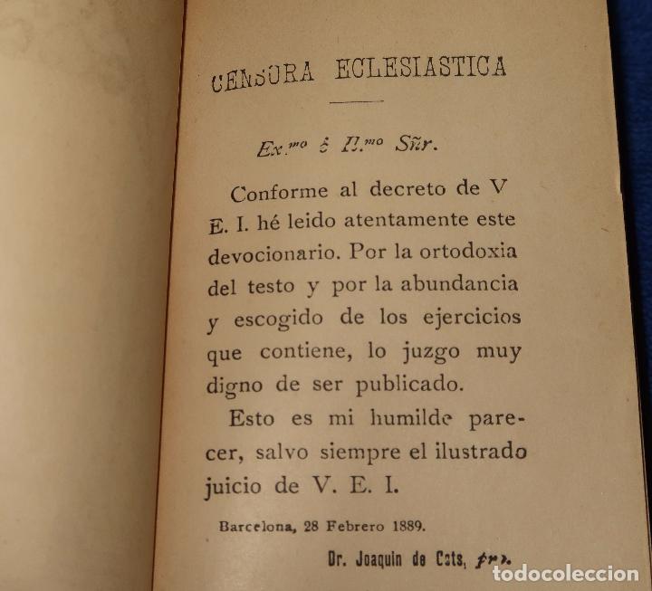 Libros de segunda mano: El oficio del domingo - devocionario - Instituto italiano de artes gráficas - Bergamo (1889) - Foto 5 - 120773603