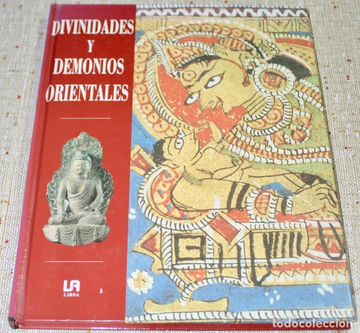 DIVINIDADES Y DEMONIOS ORIENTALES -109 PAG. - 23X30 CM. (Libros de Segunda Mano - Religión)