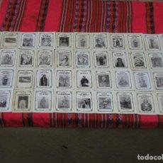 Libros de segunda mano: LOTE DE 44 NOVENAS DEDICADAS A VIRGENES Y SANTOS.. Lote 121458555