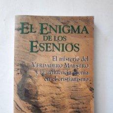 Libros de segunda mano: EL ENIGMA DE LOS ESENIOS. HUGH SCHONFIELD. EDAF. NUEVOS TIEMPOS. 1ª EDICIÓN 1995. . Lote 121818003