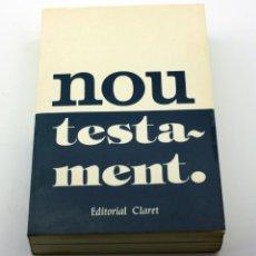 Libros de segunda mano: NOU TESTAMENT - EDITORIAL CLARET. Lote 122268879