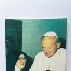 Libros de segunda mano: EL MENSAJE DE FÁTIMA HABLA LUCÍA JUAN PABLO II. Lote 122291790