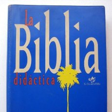 Libros de segunda mano: LA BIBLIA DIDÁCTICA. PPC SM. Lote 123398015