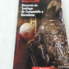Gebrauchte Bücher - BENEDICTO XVI-DOSCURSOS EN SANTIAGO DE COMPOSTELA Y BARCELONA--BAC POPULAR-CCC. - 124112975