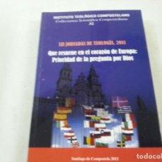 Gebrauchte Bücher - XII JORNADAS TEOLOGIA 2011-INSTITUTO TEOLOGICO COMPOSTELANO-SANTIAGO DE COMPOSTELA-CCC - 124116251