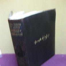 Libros de segunda mano: SANTA TERESA DE JESUS. OBRAS COMPLETAS. M. AGUILAR EDITOR 1942. . Lote 124176831