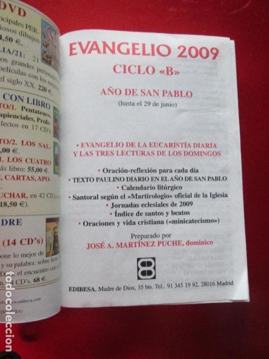 Libros de segunda mano: libro-el evangelio de 2009-año de san pablo-ciclo b-josé martinez puche-410 páginas-Ver fotos - Foto 4 - 124929315
