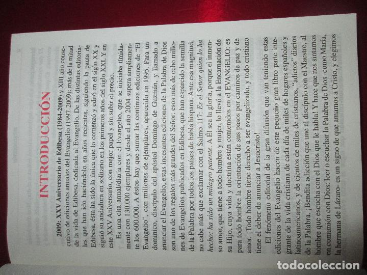 Libros de segunda mano: libro-el evangelio de 2009-año de san pablo-ciclo b-josé martinez puche-410 páginas-Ver fotos - Foto 8 - 124929315