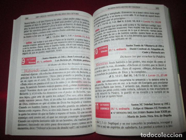 Libros de segunda mano: libro-el evangelio de 2009-año de san pablo-ciclo b-josé martinez puche-410 páginas-Ver fotos - Foto 10 - 124929315