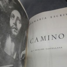 Libros de segunda mano: LIBRO CAMINO JOSE MARIA ESCRIVA.ENVIO INCLUIDO. Lote 125302918