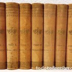 Libros de segunda mano: ENCICLOPEDIA DE LA RELIGIÓN CATÓLICA, 7 TOMOS - AA.VV - DALMAU Y JOVER. AÑO 1950. Lote 126110051