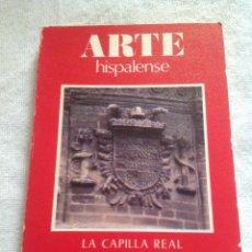 Libros de segunda mano: LA CAPILLA REAL DE SEVILLA. ARTE HISPALENSE. ALFREDO J. MORALES 1979. Lote 126121739