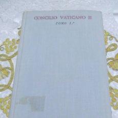 Libros de segunda mano: CONCILIO VATICANO II. COMENTARIOS A LA CONSTITUCIÓN SOBRE LITURGIA. BAC N 238. 1964.. Lote 126141140