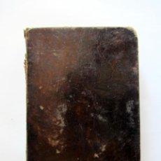 Libros de segunda mano: ALIVIO DE PÁRROCOS. TOMO I. 3ª EDICIÓN 1868. TAPAS DURAS DE PIEL. 437 PÁGINAS. Lote 126288231