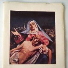 Libros de segunda mano: LLR 53 CRISTO MISTERIO DE PASIÓN CERVERA - AÑOS 60 DEL SIGLO XX - ACTORES Y RESEÑA HISTÓRICA. Lote 126994615