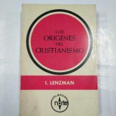 Libros de segunda mano: LOS ORÍGENES DEL CRISTIANISMO. - LENZMAN, I. MEXICO 1965. TDK347. Lote 127208351