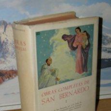 Libros de segunda mano - SAN BERNARDO - OBRAS COMPLETAS. TOMO I - Biblioteca de autores cristianos - 127598219