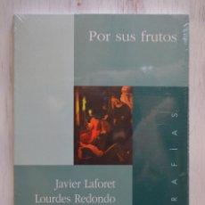 Libros de segunda mano: POR SUS FRUTOS. JAVIER LAFORET, LOURDES REDONDO, JOSÉ ANTONIO BENITO, MARTÍN JARAÍZ. ED. ENCUENTRO, . Lote 127917775