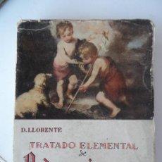 Libros de segunda mano: TRATADO ELEMENTAL DE PEDAGOGIA CATEQUISTICA . DANIEL LLORENTE VALLADOLID 1955.. Lote 127919787